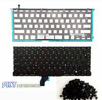 "NEW US Keyboard w Backlight MacBook Pro 13"" A1502 2013 2014 Retina (Screws)"