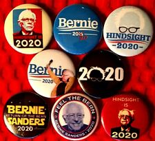 Bernie Sanders president 2020 x 8 NEW 1 inch pins buttons badge elect election