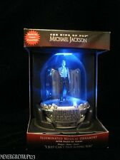 MICHAEL JACKSON ORNAMENT~I JUST CAN'T STOP LOVING YOU~LIGHTS IN MOTION~NIB