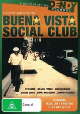 Buena Vista Social Club Ry Cooder DVD R4 Brand NEW