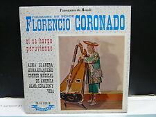 FLORENCIO CORONADO Folklore du Ppérou Alma Llanera ... FX45 1229 M