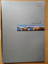 AUDI S4 Saloon & Avant 1999 brochure prospekt - Swiss market - 2.7 V6 Bi-turbo