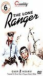 The Lone Ranger - includes 6 episodes (DVD, 2006) Brand New