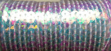 6mm Strung Sequins Sequin Trim Plain Colours