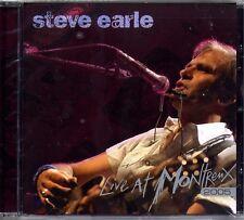 CD - STEVE EARLE - Live at montreux 2005