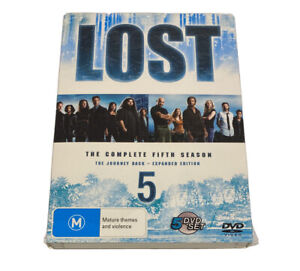 LOST Season 5 - Complete 5th Season Expanded Edition DVD R4 Pal NEW and Sealed