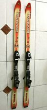 """DYNASTER RL MAX 160 WITH SALOMON 500 BINDING DOWNHILL SKIS 62"""" MADE IN FRANCE"""