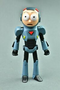 Rick And Morty - Purge Suit Morty Funko Action Figure Fully Posable