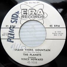 PLANETS & BILL STEWARD doowop M- promo 45 Never Again / Stand There Mountain F59