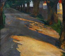 Gemälde (1900-1949) im Expressionismus-Stil mit Landschafts- & Stadt-Motiv