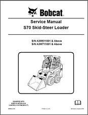 Bobcat S70 Skid Steer Loader Service Manual on a CD  ----    S 70