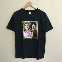 Blondie The Pretenders Australia New Zealand Tour 2010 T-Shirt Mens Large