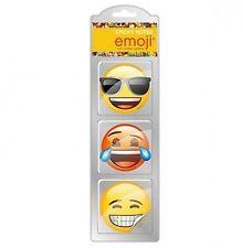 PASTIGLIE POST-IT Emoji Emoticon icone MEMO Books infilarlo Smiley carta messaggio