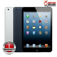 Apple iPad Mini 16/32/64GB Wi Fi & Cellular 7.9in Tablet Black or White Various