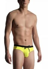 Authentic MANstore M909 Beach Cheeky Brief Citro Yellow Large L