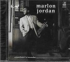 CD album: Marlon Jordan: Marlon's Mode. Arabesque. A2