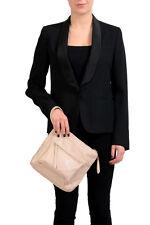 Maison Margiela 11 Women's Beige Leather Handbag Wristlet Clutch