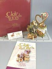 Harmony Kingdom Clair De Lune Vix, Verne, & Velvet's Vanity Trinket Box Cats Ed1
