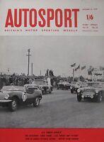 AUTOSPORT magazine 16/10/1959 Vol.19, No.16
