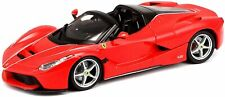 Bburago LaFerrari Aperta (rot, Maßstab 1:24) Ferrari Modell Sportwagen Auto Car