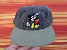 Walt Disney Studios Mickey Golf Classic Corduroy Baseball cap hat Brand New