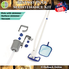 Bestway Pool Cleaner Cleaners Deluxe Maintenance Kit Cleaning Swimming Pools
