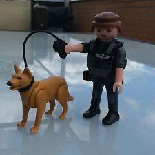 PLAYMOBIL POLICÍA SWAT CON PERRO  7/5/14