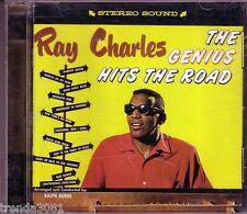 RAY CHARLES 59th Anniversasry Collectors Series RHINO CD Genius Hits Road Great
