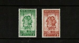 A LOVELY 1942 NEW ZEALAND MINT SET OF 2 HEALTH STAMPS