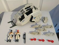 GI Joe Cobra Action Force Cobra Wolf and Ice Vipers and parts lot 1987