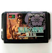 Nobunaga no Yabou : Haouden (JAP) - jeu Mega Drive - Game for Sega Megadrive