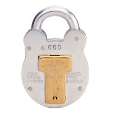 Squire 660 64mm steel case old english padlock HSQ660 shed gate farm
