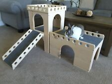 """Bunny Castle and Fort - """"Circle"""" design - Rabbit / Small Animal"""