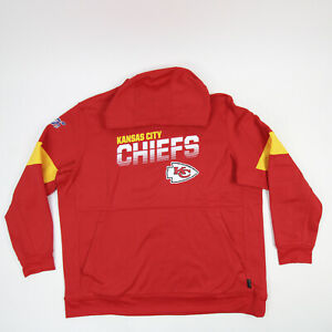 Kansas City Chiefs Nike Dri-Fit Sweatshirt Men's Red New with Tags