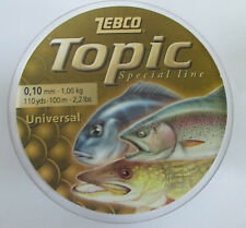 Zebco Topic Universal Fil 10mm X 1kg X 100m