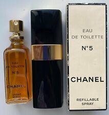 Chanel NO 5 EAU DE TOILETTE 50 ml 1.7 FL OZ VINTAGE 1990S