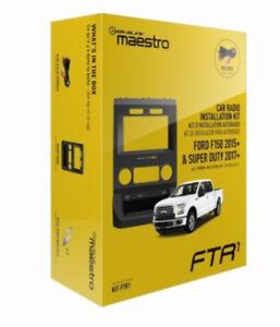 """iDatalink Maestro FTR1 Dash Kit & T-Harness Ford Trucks 2015-2018 w/ 4.3"""" Screen"""