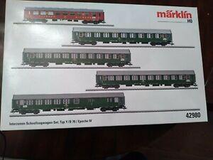 Marklin 42980 Interzonenzug Passenger Set, Boxed