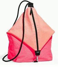 Victorias Secret pink limited 2016 summer beach sling string bag backpack tote