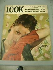 LOOK MAGAZINE SEPTEMBER 2 1947 LONG SKIRTS AMERICAN LEGION RUSSIANS DRINKER
