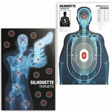 """50x Shooting Targets Paper for The Range Splatter Pistol Rifles BB Guns 25x38"""""""