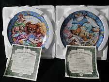 1995 Collectible Bradford Exchange Sweet Dreamin Rock A Bye Readin Lullabears 2