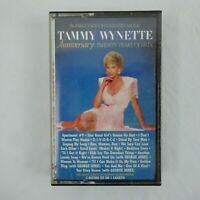 Tammy Wynette Cassette Anniversary 20 Years of Hits