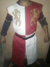 Medieval Knight Lionheart Tunic,tabard,Surcoat Reenactment Sca Larp