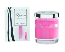 Rigaud Paris Rose (Santifolia) Candle Small Size 2.12 oz. With Snuffer Top