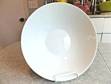 """CONTINENTAL CHINA RAYMOND LOEWY ROSENTHAL ROUND SERVING BOWL in """"RHYTHM"""" PATTERN"""