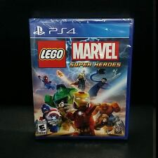 LEGO Marvel Super Heroes PS4 Game NEW (English, Portuguese, Spanish, French)