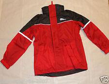 Regenjacke Jacke mit Kapuze Packbeutel Wind Wasserdicht Gr 122 - 128