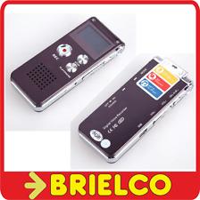 GRABADORA DIGITAL COMPACTA VOZ MUSICA LLAMADA TELEFONICA MP3 MEMORIA 8GB BD9313