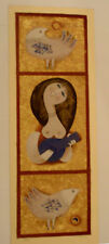 SAMY BRISS colored signed numbered ser TRIPTYCH  * free shipping *  COA